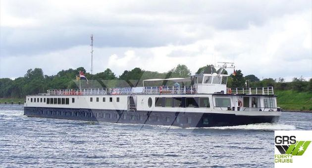80m / 102 pax Cruise Ship for Sale / #1096645