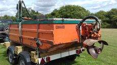 Weed cutting boat conver C-480-H
