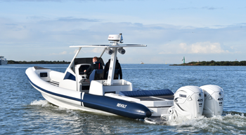 Revolt Comfort RIB 1180 with Twin Yamaha 425HP outboard & PEGA trailer