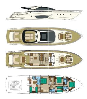 2012 Riva Domino 86 Layout
