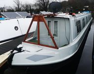 Mr Tidds Fantastic Colecraft Semi Trad moored at Roydon Marina Village