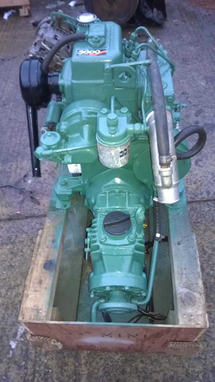 Volvo Penta MD7b 17hp Marine Diesel Engine Package