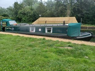 Gemina Megan beautiful 42' Cruiser stern narrowboat