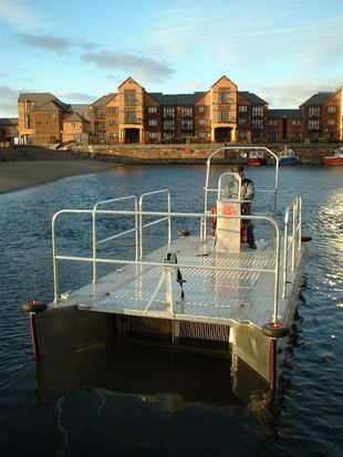 WATER WITCH PONTOON BOAT