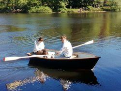 Tradman 10 Clinker Fibreglass boat