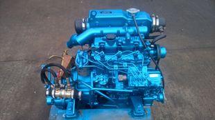 Perkins M35 Marine Diesel Engine Breaking For Spares