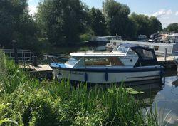 Cruiser boat at Priory Marina Bedford ,
