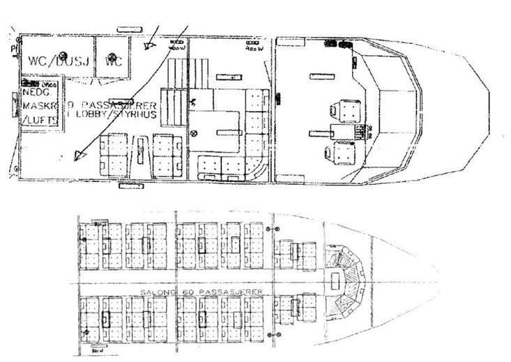 1989 Passengers Vessel For Sale