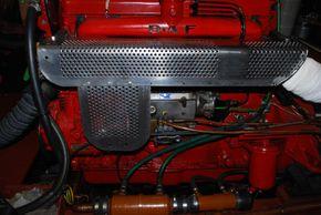 The DAF DD575 Engine