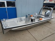 New 5.00 meter Aluminium full option workboat