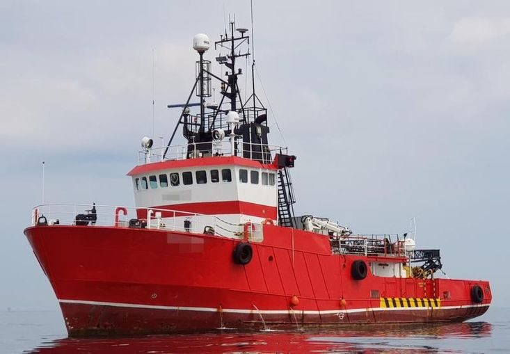 1980 Supply and Support Vessel For Sale