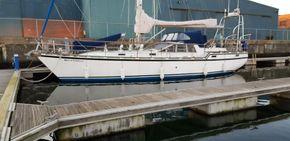 Port side view afloat