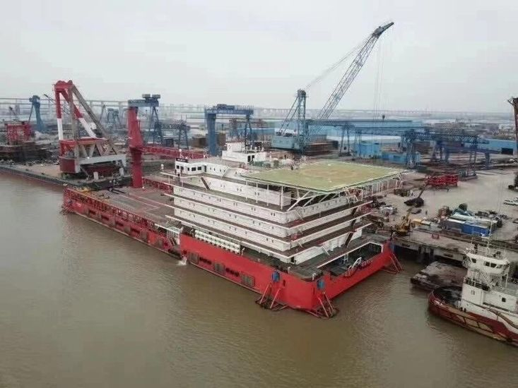 500pax Accommodation Barge