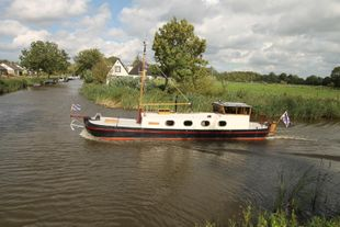 Well maintained ship ready to sail