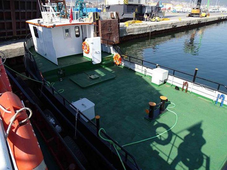 15m Steel Workboat Single Screw