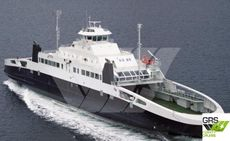 LNG GAS FUELED 130m / 600 pax Passenger / RoRo Ship for Sale / #1065090