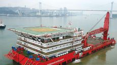 300pax Accom Barge for charter