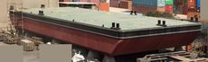 2015 30m x 11m flat top deck PONTOON BARGE