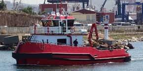 Multipurpose Firefighting boat/ Tugboat