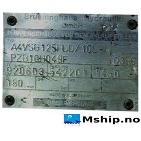 Brueninghaus Hydraulic A4VSG125
