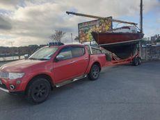 "Folkboat (East German) FB497 ""Goosander"""