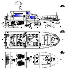 15.5mtr Crew Boat