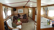 Dutch Barge liveaboard South France
