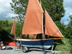 Drascombe Dabber Yawl & Trailer - topsail.co.uk