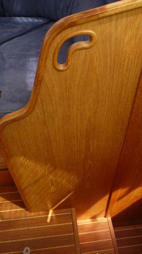 saloon - wood detail