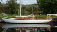 Classic British Folkboat. 1962