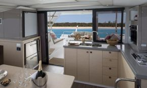 Manufacturer Provided Image: Manufacturer Provided Image: Fountaine Pajot Lucia 40 Galley