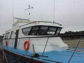 Houseboat purpose built 20m  - Coachroof/Wheelhouse