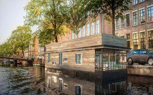 Kinsan Static House Boat