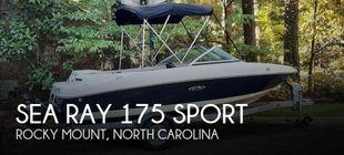 2010 Sea Ray 175 Sport