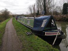 56 ft Semi-trad Narrow boat