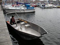 5.8m Aluminium Utility Boat