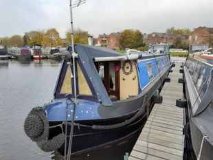 Rainbows End Cruiser Stern built 1993 Liverpool Boats £35,995