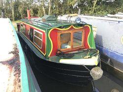 23ft Cruiser Stern Narrowboat.  Built by Springer circa 1990