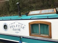 Lovely Dutch Barge. Rebuilt and refitted 2018