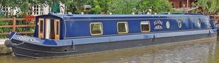 64ft 2 bedroom Narrowboat by Northwich