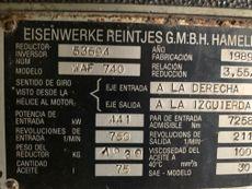 REINTJES WAF 740 3.55:1