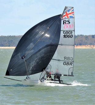 RS800 1060 sailing dinghy