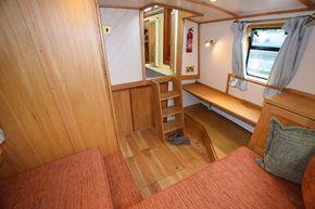 Aft cabin forward