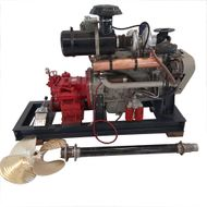 Cummins 6BT 5.9 Marine Boat Engine used  with new Transmission