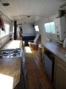 Narrow Boat 56 Foot Cruiser Style