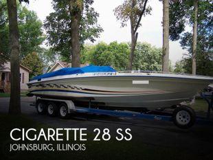1978 Cigarette 28 SS