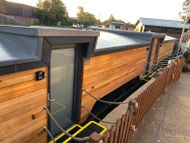 50ft Houseboat Barge Bespoke air b'n'b unit
