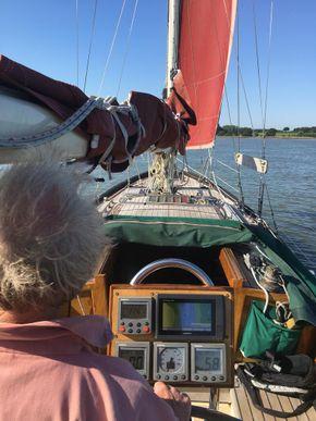Helm navigation equipment