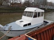 Project- Flybridge Steel Motor Boat - Project 90% Complete.