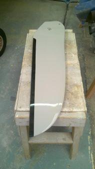 RS short Aero style rudder blade